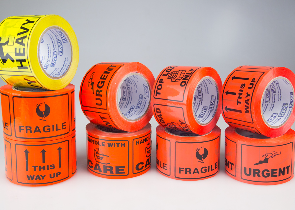 Standard Message Linerless Label Tapes